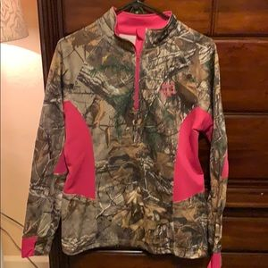 Awesome camo and pink pullover